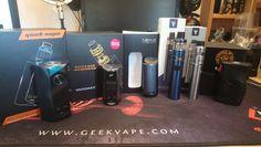 Just in... Geek Vape Blade Crystal Sands edition, Vaporesso Nexus, Vaporesso Cascade One and Cascade One Plus. Council of Vapor Range 240 and Wismec RX Gen 3 Dual