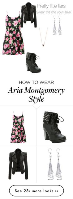 Aria Montgomery by cecibo on Polyvore