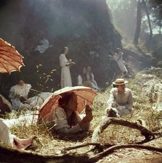 Picnic at hanging rock.