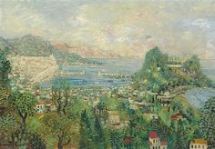 Johannes Schiefer (1896-1979) <br />Monte Carlo <br />signed 'Johannes Schiefer' (lower left) <br />oil on canvas <br />36 7/8 x 52 7/8 in. (93.6 x 134.3 cm.) <br />