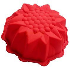 Torta FAI DA TE stampi pasticceria all'ingrosso carino grande girasole torta del silicone della muffa del pane stampi stampi da dessert CDSM-040