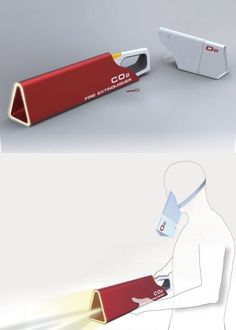 Conceptual fire extinguisher