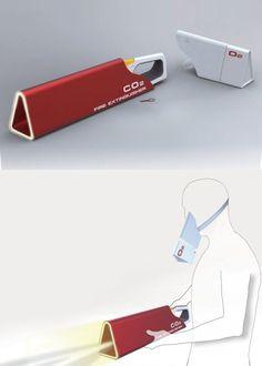 Conceptual fire extinguisher