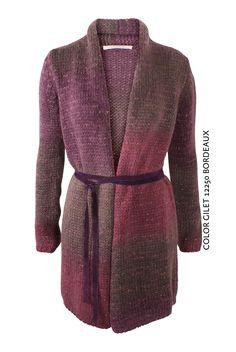 Color Gilet 12250 Bordeaux von KD Klaus Dilkrath #kdklausdilkrath #kd #dilkrath #kd12 #outfit #color #gilet #bordeaux #jacket #cozy