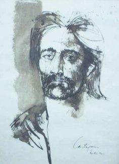 La cara de Martín Fierro, Juan Carlos Castagnino  #juancarloscastagnino #gaucho #martínfierro #artistasargentinos