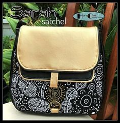 Sarah Satchel PDF Sewing Pattern from Huff n Cuffs