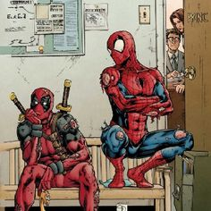 Spidey and dead pool
