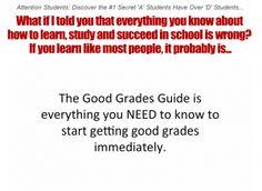 Study Skills Lesson Plans