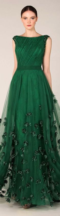First I wish I had a place to wear something this lovely. Second I wish I had the money to buy should I have a place to wear it to. Tony Ward Fall Winter 2013-2014 live the colour. Would make a gorgeous anarkali.