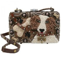 Mary Francis Handbag   Dogs and bags...love it.