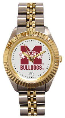 Mississippi State Bulldogs Ladies Executive Stainless Steel Sports Watch by SunTime. $149.99