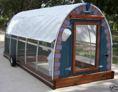 1000 images about designing a mobile chicken house on for Mobile hen house plans