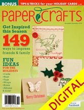 Paper Crafts November/December 2010 Digital Issue @PaperCraftsMag So thrilled to have my card on a Nov/Dec cover!