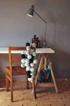 Cotton Ball Lights Lampka z Kul Marin 35 szt. Cotton Ball Lights, Room Inspiration, Led, Lighting, Interior, Furniture, Design, Home Decor, Kids Rooms