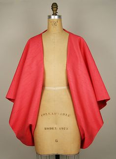 House of Balenciaga | Evening wrap | French | The Met