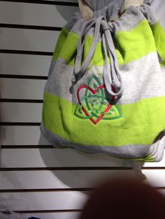 Cloth drawstring bag, great for beach accessories!!