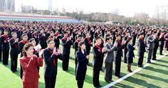 조선의 각급 학교들에서 새학년도 교수 시작