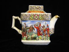 Your place to buy and sell all things handmade Bonnie Prince Charlie, Vintage Crockery, Teapot, Chips, Pottery, Tableware, Etsy, Ceramica, Tea Pot