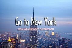 favorite city. Love NY ♥♥  going there as often as possible