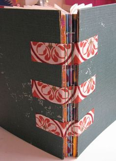 Beautiful binding! I have so many old children's books, I need to do this!!