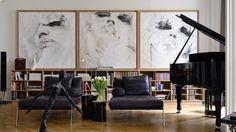 claude cartier décoration / appartement s, lyon