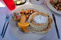 Captiva Island Restaurants - Get the Blueberry Granola Pancakes at RC Otters!