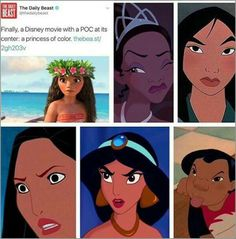 Watch the other Disney movies before you make assumptions and get too excited