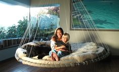 Floating Bed - They have a youth one for kids with Autism. Asher would seriously LOVE this.
