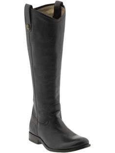 The perfect boot. flat black boots