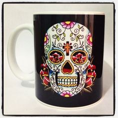 Caneca Personalizada Caveira Skull - StarGeek Store - $25