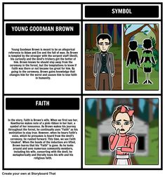 The uses of symbolism in young goodman brown by nathaniel hawthorne