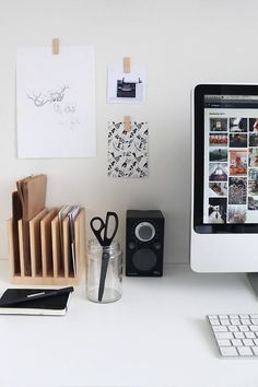 Desk styling #desk #workspace