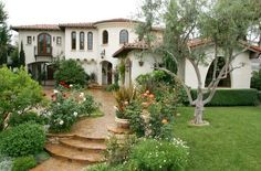 [ Spanish Style Homes Southwest Style Home Traces Spanish Colonial Native American ] - Best Free Home Design Idea & Inspiration Spanish Revival, Spanish Colonial, Spanish Exterior, Spanish Tile, Spanish House Design, Spanish Style Homes, Spanish Mansion, Design Exterior, Exterior Paint
