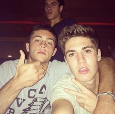 Jack Gilinsky and Sam Wilkinson, MagCon Boys