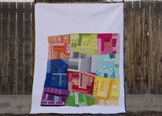 from the blue chair: The Color Quilt--Finished--quilt back