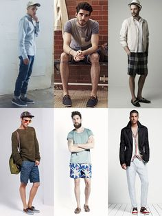 Men's Boat Shoes - Experimenting With Prints/Patterns Outfit Inspiration