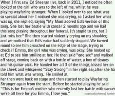 My love and respect for Ed only goes up. EVERYONE MUST READ THIS! I AM CRYING.
