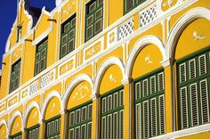 curacao architecture -