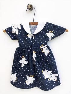 A personal favorite from my Etsy shop https://www.etsy.com/listing/249669043/french-vintage-blue-baby-girl-dress-baby