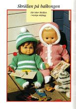 Albumarkiv - Sticka och virka Dockkläder till Skrållan, Barbie & Sindy Knitting Dolls Clothes, Doll Clothes, Doll Patterns, Knitting Patterns, Ann Louise, Baby Born, Animals And Pets, Baby Dolls, Craft Projects