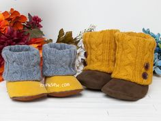 1340 Annmarie Baby Boots PDF Pattern - New Release Sale 35% Off!