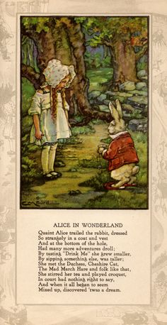 aliceweb Alice in Wonderland