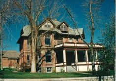 Carriage house in back. Helena, MT
