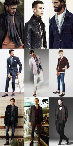 Risky Men's Style Statements and How To Pull It Off, The Silk/Lightweight Scarves Lookbook Inspiration