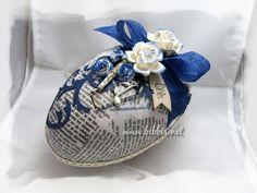 Bibbi's: Blått påske egg