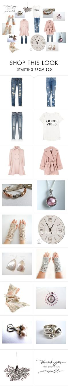 """""""Shop Small"""" by valeriebaberdesigns ❤ liked on Polyvore featuring Hollister Co., STELLA McCARTNEY, Tommy Hilfiger, Carven, Pink and shop"""