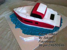 3d boat cake Boat Cake, Novelty Cakes, 3d