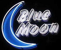 Blue Moon neon