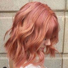 loving this 'blorange hair colour, do I go for it? www.instagram.com/