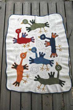 Deshilachado: Colchas de ganchillo / Crochet blankets